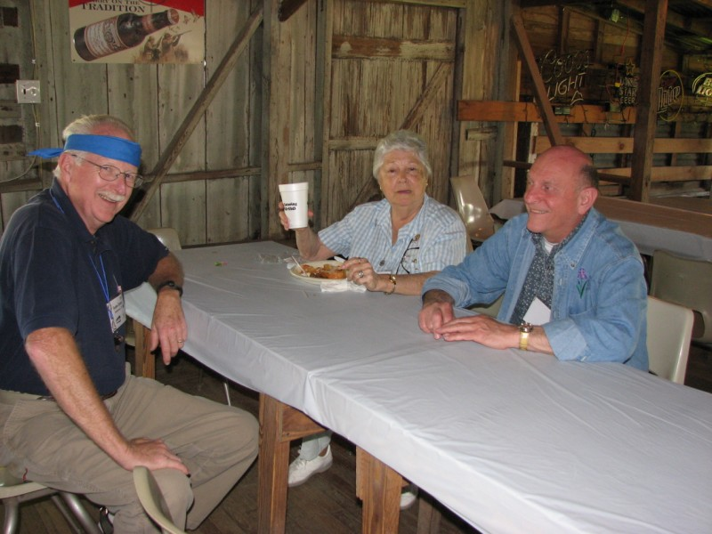 Gordon Carver, Pat Byrne, and Paul Gossett